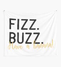 Fizz Buzz Wall Tapestry