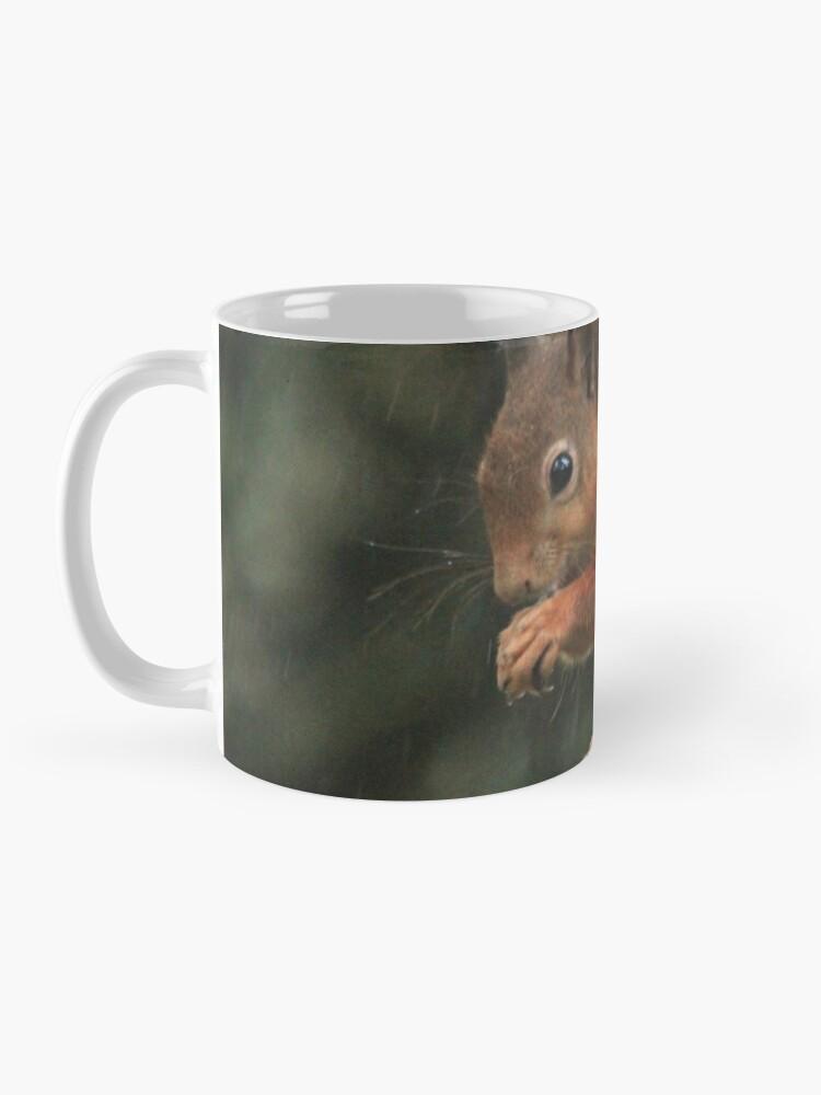 Alternate view of Squirrel shelter Mug