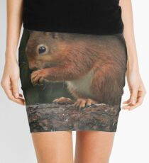 Squirrel shelter Mini Skirt