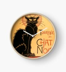 Chat Noir Clock