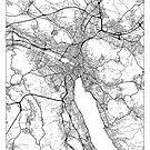 Zurich Map Minimal by HubertRoguski