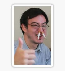 Pegatina Filthy Frank - Thumbs Up Cigarettte