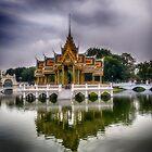 Phra Thinang Aisawan Thiphya-Art - Thailand by Kathy Weaver