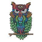 Cosmic Owl by dacart
