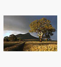 Wild Light over the Grampians, Dunkeld, Australia Photographic Print