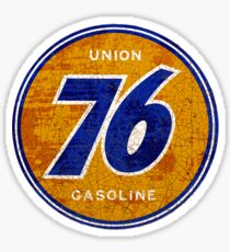 Union 76 Gasoline USA Sticker
