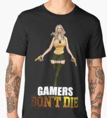 Hot Girl Gamers dont die Men's Premium T-Shirt