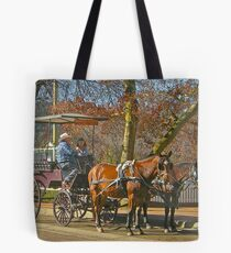 Bowral Horse & Carriage # 2 Tote Bag