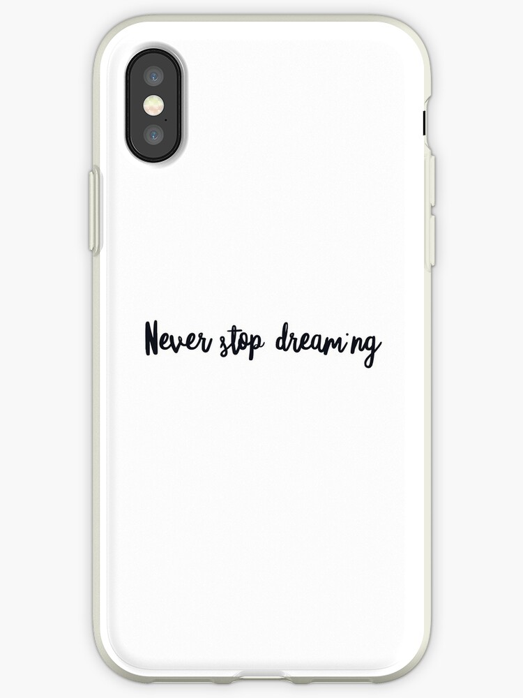 db9a27b0c06da Never stop dreaming - Tao  Click to see other items with this design ...