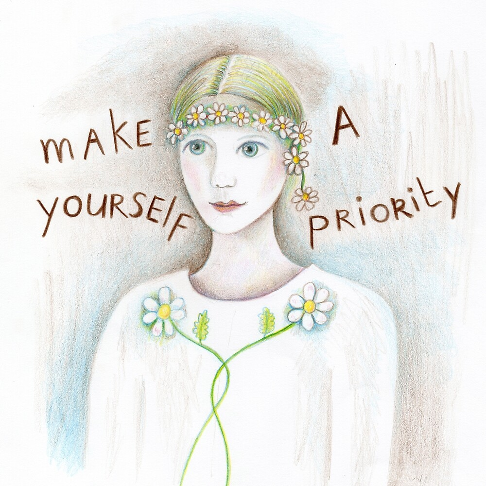 make yourself a priority by trudette