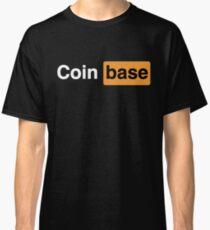 Coinbase Naughty Logo Classic T-Shirt
