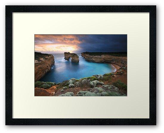 Island Arch, Great Ocean Road, Australia by Michael Boniwell