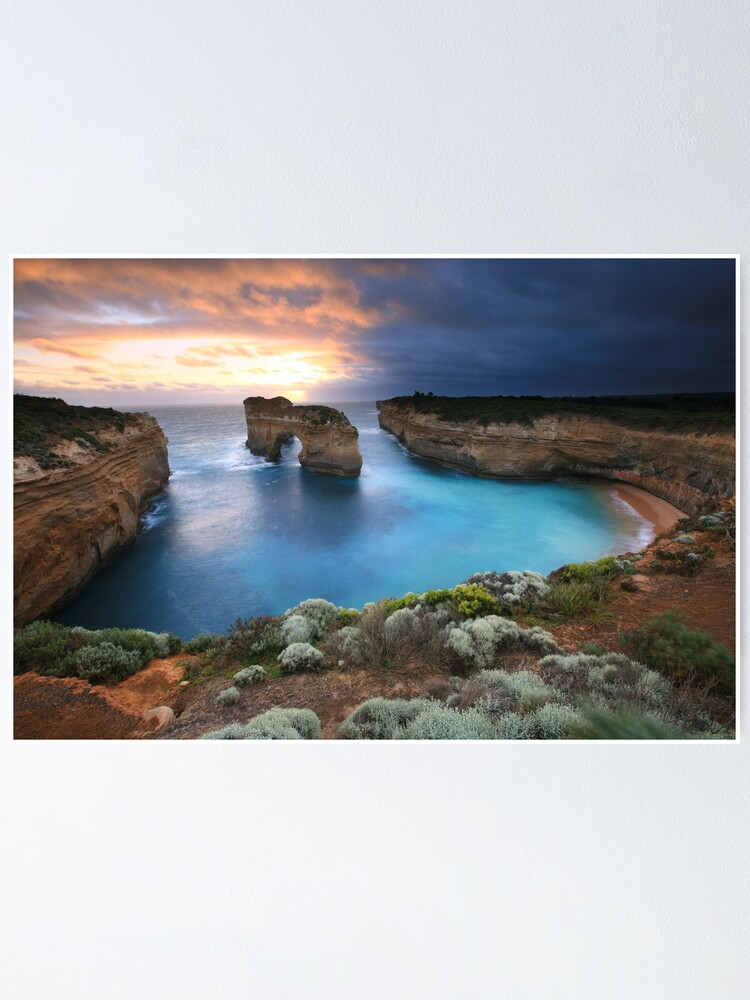 Alternate view of Island Arch, Great Ocean Road, Australia Poster