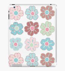 Nine Flowers, Chocolate and Mint, #5 iPad Case/Skin
