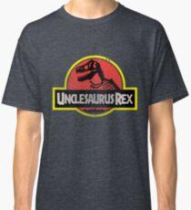 Unclesaurus Rex Funny Uncle T-shirt Classic T-Shirt