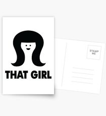 THAT GIRL Postcards