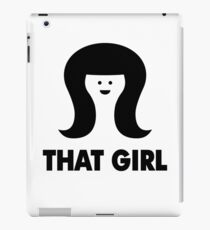 THAT GIRL iPad Case/Skin