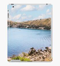 Wild shore of the sea bay. iPad Case/Skin