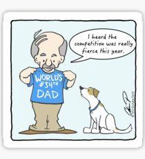 World's #34th Dad Sticker