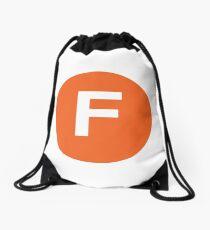 New York Raised Me / New York / F Train  Drawstring Bag