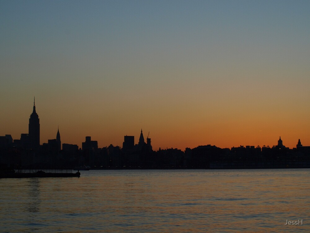 Another Day Dawns- New York City by JessH