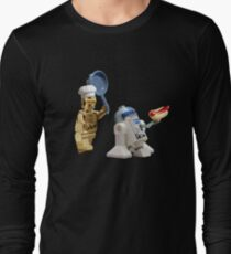 R2-D2 Hot Dog Thief Long Sleeve T-Shirt