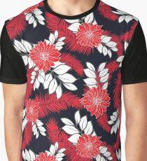 Beautiful hawaiian flower design Graphic T-Shirt
