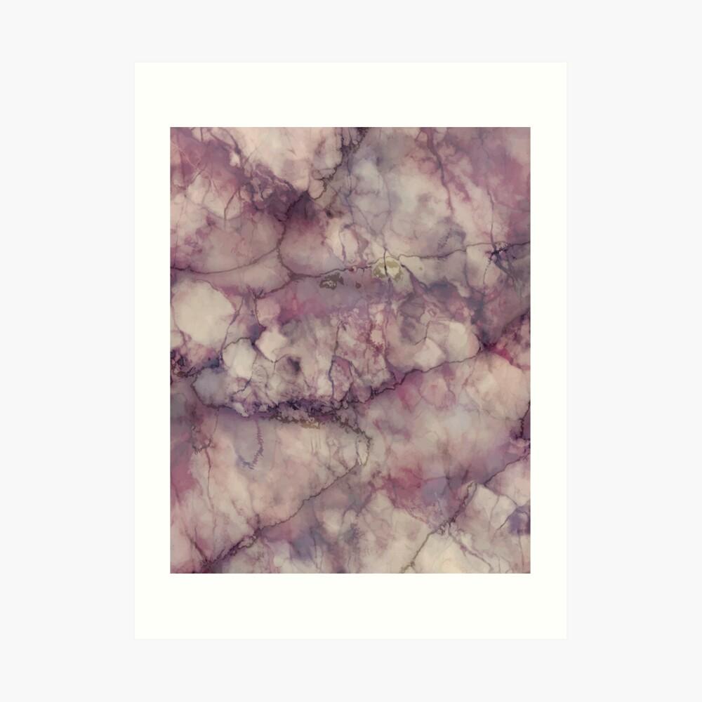 Marble Art V1 #redbubble #buyart Art Print