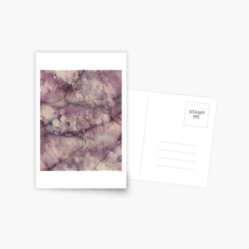 Marble Art V1 #redbubble #buyart Postcard