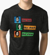 fat short and slow Tri-blend T-Shirt