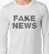 Fake News Long Sleeve T-Shirt