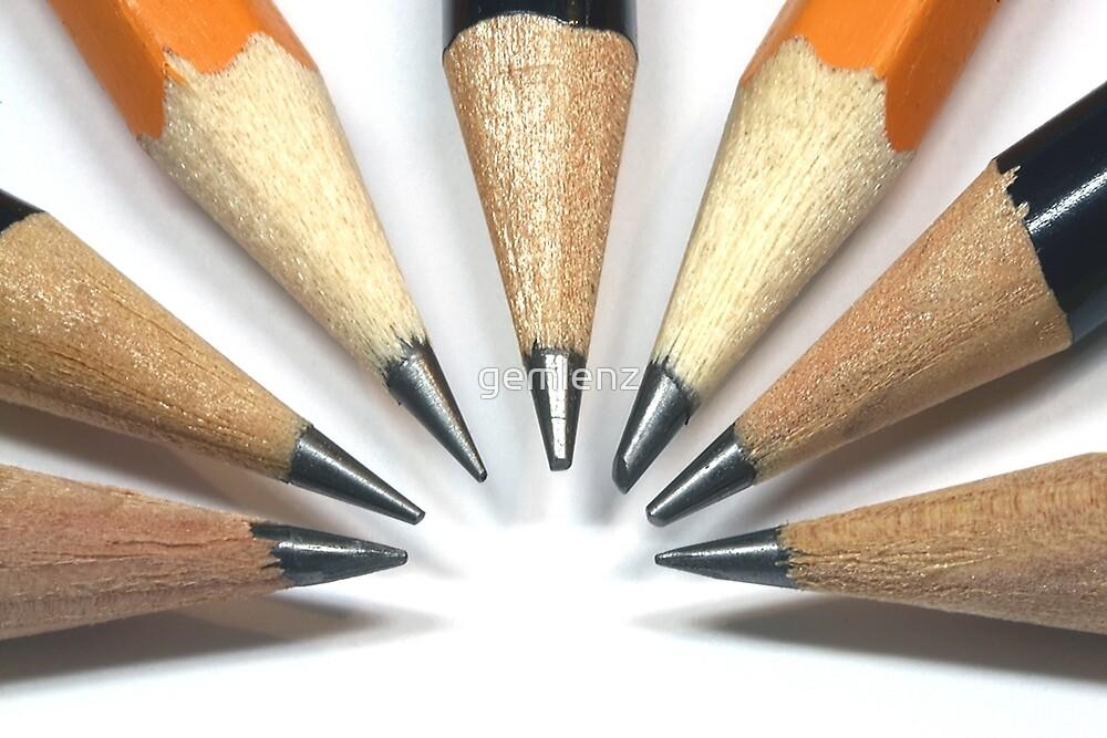 Pencils by gemlenz