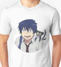 Blue Exorcist - Rin Okumura and Kuro Unisex T-Shirt