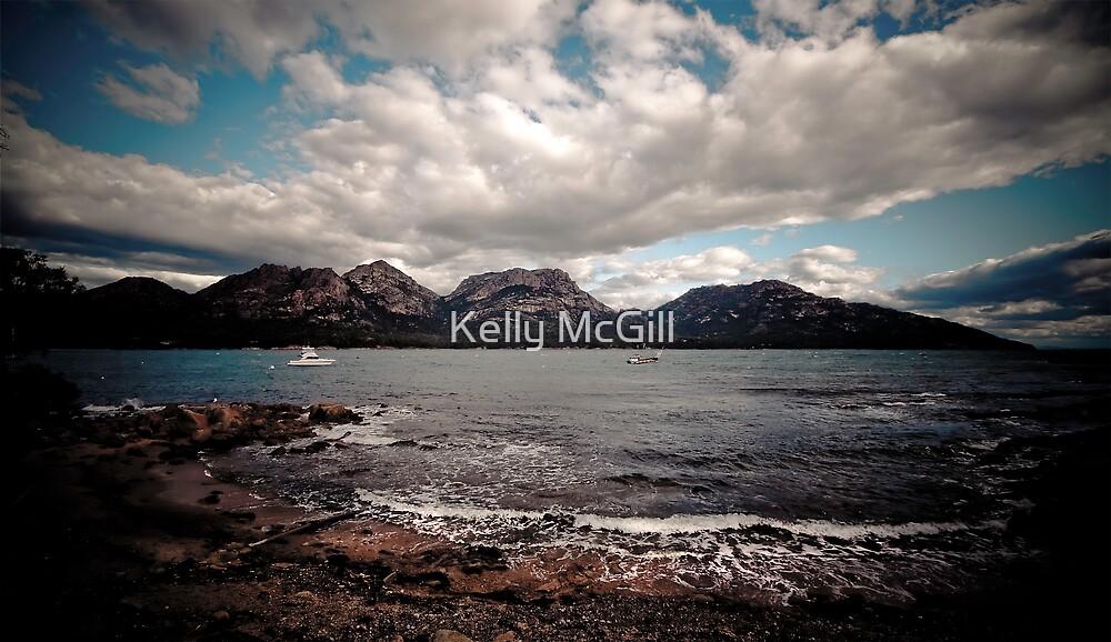 The Hazards, Freycinet National Park Tasmania by Kelly McGill