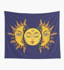 Sonne Wandbehang