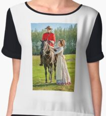 A Moment Together ~ By Ernie Kasper Women's Chiffon Top