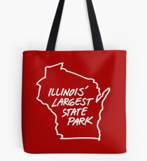 Illinois' Largest State Park Wisconsin Tote Bag