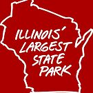 Illinois' Largest State Park Wisconsin by gstrehlow2011