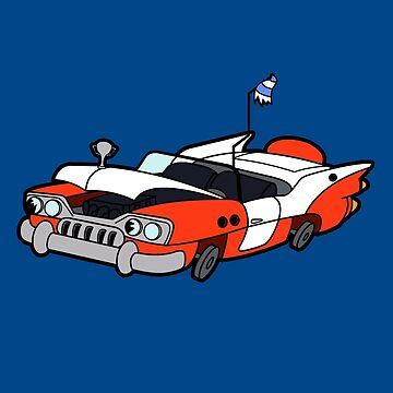 Junk Pile Cats Cadillac by robotghost