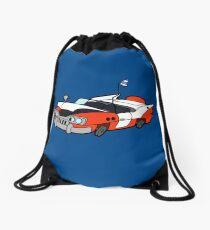 Junk Pile Cats Cadillac Drawstring Bag