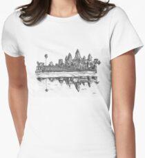 Angkor Wat Women's Fitted T-Shirt