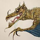 Dragon illustration by Extreme-Fantasy