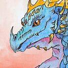 Blue Dragon by Nina Bolen