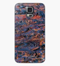 Dark paint strokes Case/Skin for Samsung Galaxy
