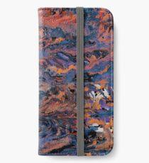 Dark paint strokes iPhone Wallet/Case/Skin