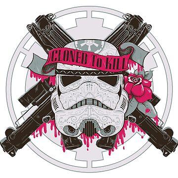 Blasters N Roses by DarkChoocoolat