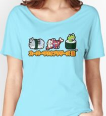 Super Mario Bros Sushi Women's Relaxed Fit T-Shirt