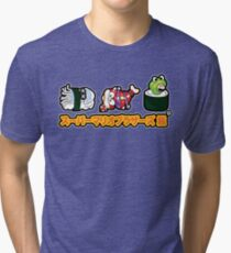 Super Mario Bros Sushi Tri-blend T-Shirt