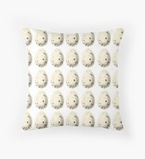 Speckeled Eggs   Food Throw Pillow