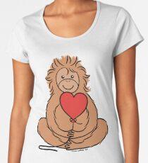 Lovable Orangutan Women's Premium T-Shirt